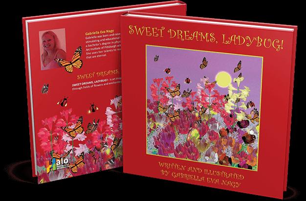 Sweet Dreams, Ladybug! - book mockup
